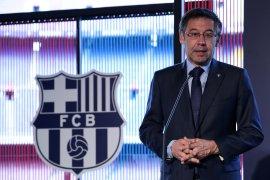 Barcelona bantah rumor gunakan medsos serang legendanya