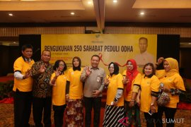 Kemensos kukuhkan 250 Sahabat Peduli ODHA Sumut