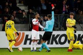 Arsenal dikalahkan BATE saat Inter, Sevilla dan Benfica menang di Liga Europa