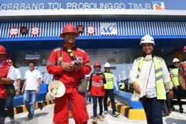 Ke Jatim, Rini pastikan tol Pasuruan-Probolinggo siap dioperasikan