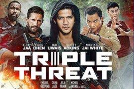 """Iko Uwais tampilkan jurus kembangan pencak silat pada film """"Triple Threat"""""""
