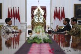 Presiden Jokowi terima CEO Bukalapak