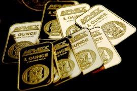 Transaksi emas  berjangka ditutup di posisi tertinggi