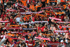 Persija kalah 0-1 dari Badak Lampung meskipun tampil dominan