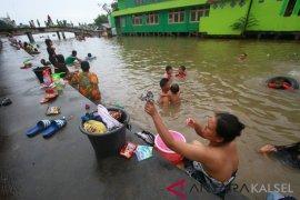 Air Sungai Martapura mulai asin