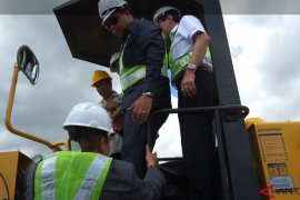 Tjhai Chui Mie bersyukur pembangunan Bandara Singkawang dimulai