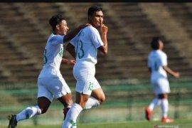 Timnas Indonesia U-22 bermain imbang 1-1 kontra Myanmar di laga perdana