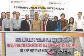 Kantor Pajak Pontianak timur canangkan zona integritas bebas korupsi