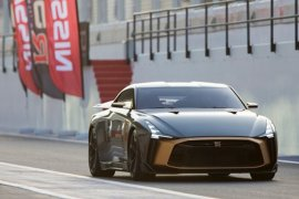 Nissan GT-R50 Italdesign debut di Dubai