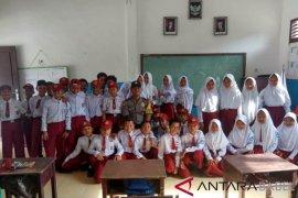 Polsek Air Gegas laksanakan program Bhabinkatibmas masuk sekolah