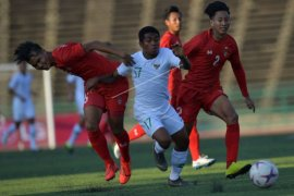 Timnas U-22 tahan imbang Myanmar 1-1