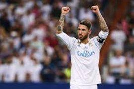 Sergio Ramos diragukan tampil di El Clasico