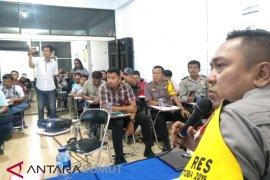 Kapolres Asahan Narasumber lomba menulis berita PWI Asahan