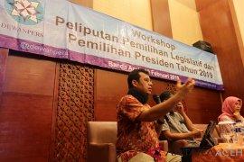 Pelatihan Dewan Pers tentang pemilu
