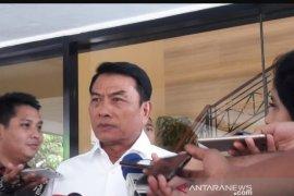 Moeldoko: jabatan TNI aktif di kementerian hanya sementara