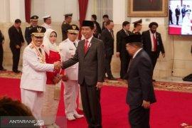 Presiden Jokowi lantik Gubernur-Wagub Riau 2019-2024 di Istana Negara