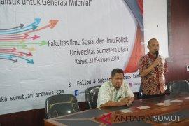 Goes to Campus ANTARA Sumut diawali dari FISIP USU