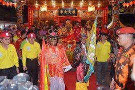 Bupati dan Forkopimda ikut Pawai Lampion keliling Kota Ketapang