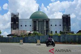 Pembangunan Masjid Giok Nagan Raya dilanjutkan, telan anggaran Rp16 miliar