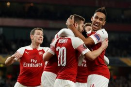 Liga Europa: Arsenal dan Chelsea lolos ke 16 besar