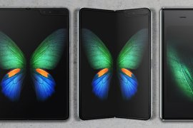 "Ponsel Lipat ""Galaxi Fold"", Andalan Samsung"
