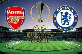 Berikut susunan pemain Chelsea dan Arsenal dalam final Liga Europa
