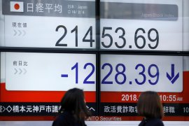 Saham Tokyo turun tertekan  kekhawatiran prospek pertumbuhan global