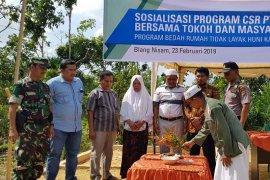 Medco Malaka bedah rumah warga Aceh Timur