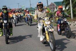 Gubernur Bengkulu Pakai Trail Jelajah Alam Mukomuko