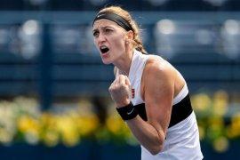 Kvitova singkirkan Sevastova ke mencapai semifinal Stuttgart