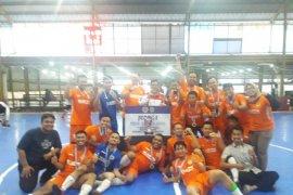 Samarinda Jawara Turnamen Futsal IKA PTK Kaltim 2019