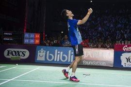 Ganda campuran Indonesia habis di babak dua Thailand Open
