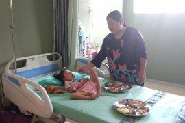 Wabup Penajam Berjanji Bantu Pengobatan Penderita Gizi Buruk
