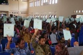 Ternate imbau warga manfaatkan program sertifikat tanah gratis