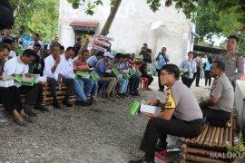 Kapolda Maluku ajak masyarakat nelayan jaga kamtibmas