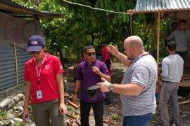 PMI assesment pembangunan sanitasi di pengungsian