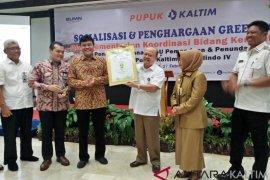 Pupuk Kaltim Terima Penghargaan Kemenko Maritim, Pertama Terapkan Green Port di Indonesia