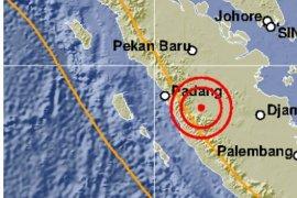 Gempa terasa di wilayah barat Provinsi Jambi
