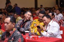 Wali Kota Fasha hadiri rakornas kewaspadaan nasional pemantapan Pemilu 2019