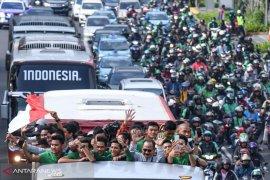 Presiden Jokowi terima Timnas Garuda Muda U-22 di Istana