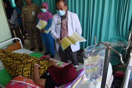 Jumlah penderita demam berdarah di Kota Madiun naik drastis