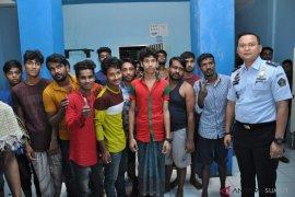 198 imigran gelap Bangladesh diinapkan di Rudenim Belawan