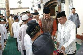 Gubernur Sumut minta masyarakat Aceh dukung pembangunan Sumut