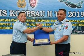 Lanud Gusti Ngurah Rai Bali terima penghargaan dari Pangkoopsau II