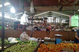 Pasar Flamboyan minim pembeli saat Imlek