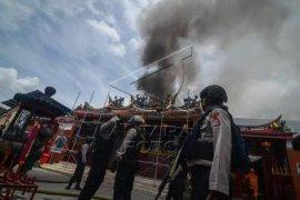 Kebakaran Vihara Samudra Bhakti