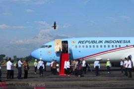 Presiden Jokowi memulai kunjungan kerja di Jawa Timur