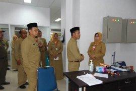 Bupati dan Wakil Bupati Bangka sidak RSUD Depati Bahrin