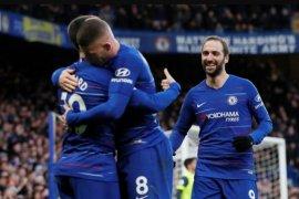 Chelsea toreh kemenangan 5-0 atas juru kunci Huddersfield