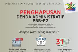 Bapenda Kota Tangerang Hapus Denda Pajak P2